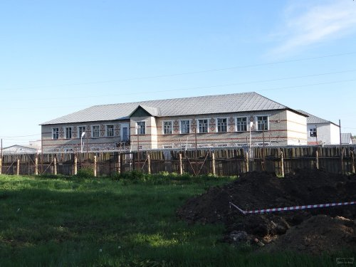 Здание училища на территории КП-2