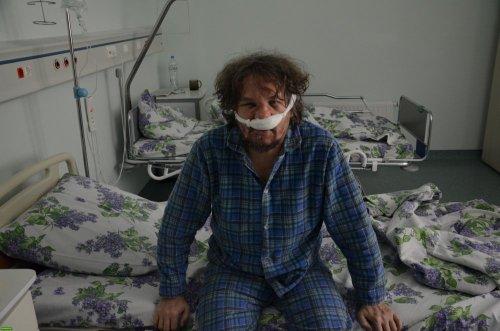 Андрей Рудомаха в больнице